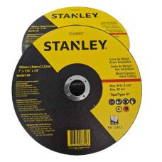 DISCO DE CORTE STANLEY - FINO -  7 POLEG. X 1,6MM X 22MM - STA8067
