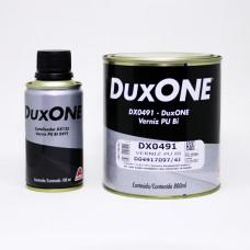 VERNIZ DUXONE PU DX0491 -BI-COMPONENTE 900ML - C/ CATALISADOR - 8 : 1