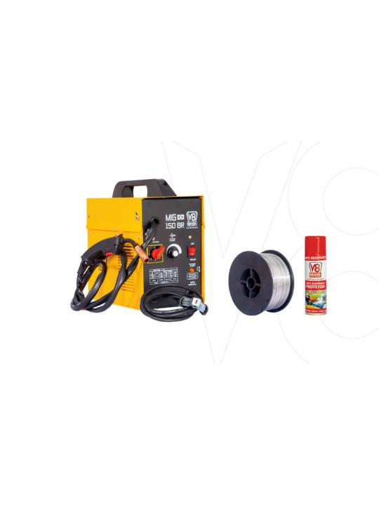 XXX MAQ. SOLDA MIG V8 150 BR-220V ELETRONICA